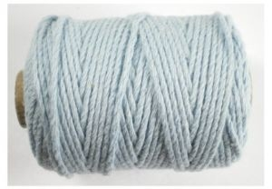 Cotton cord, Lichtblauw