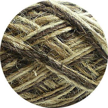 Flaxkoord trico naturel bruin