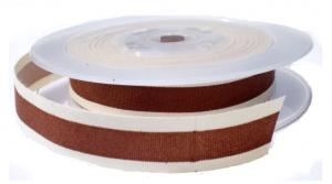 Cotton stripe lint bruin