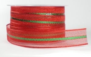 Santa's glitter stripe,lint