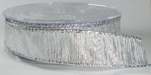 Zilver lint met draad