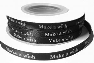 Make a wish lint zwart