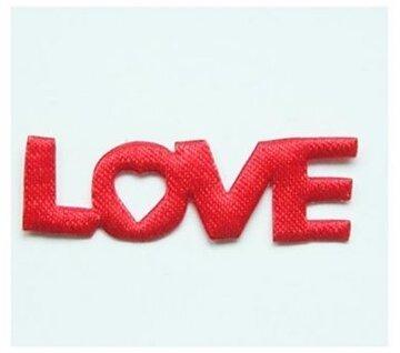 Love, tekst 40mm