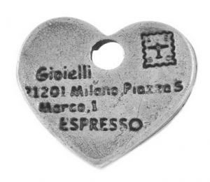Loveletter zilver bedeltjes, 14mm