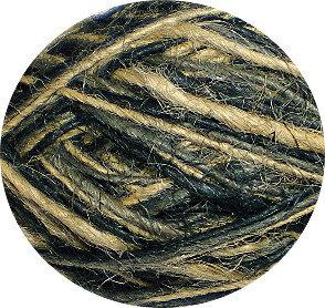 Flaxkoord trico naturel/grijs/zwart