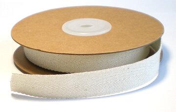 Cotton metallic zilver lint