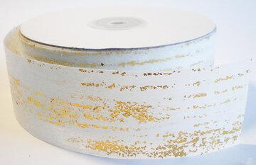 Wit goud papier lint
