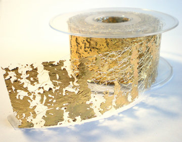 Web lint Goud 40mm