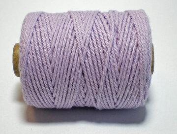 Cotton cord, Lila
