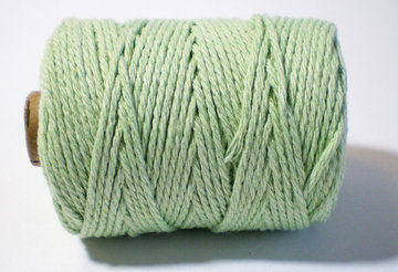 Cotton cord, mint