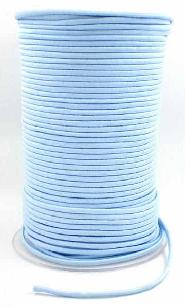 Elastisch koord lichtblauw
