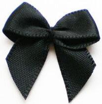 Zwarte strikjes|100st.