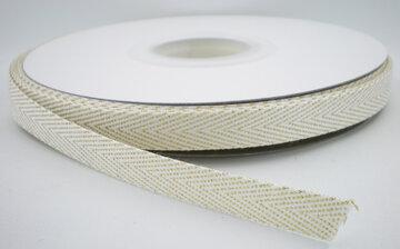 Twill lint wit|goud