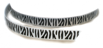Zebra lint wit/zwart 16mm