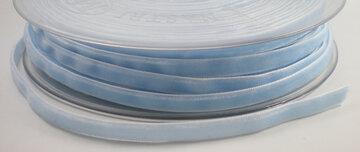 Fluweel lint 6mm Lichtblauw