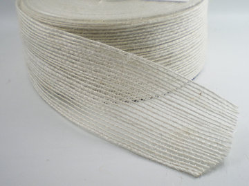 Jute band wit 40mm