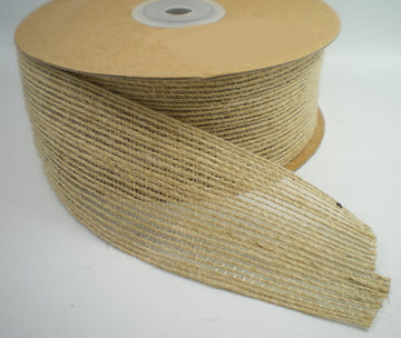 Jute band zand 40mm