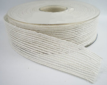 Jute band wit 25mm