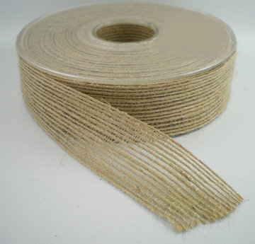 Jute band zand 25mm