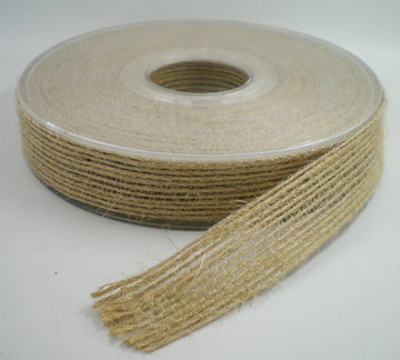 Jute band zand 15mm