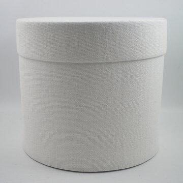Cotton round box wit