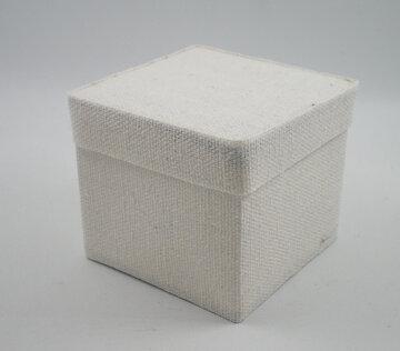 Cotton square box wit 6x