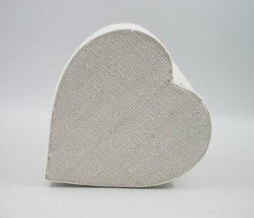 Cotton heart box wit 6x