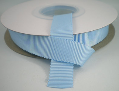 Petersham lint lichtblauw 16mm