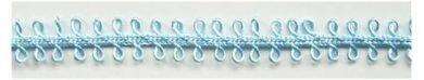 lichtblauw lusjes band,5 meter