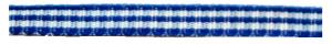 blauw geruit 5 mm