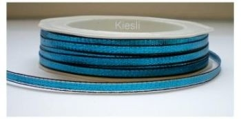 Blauw metallic lint