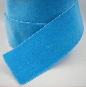 Turquoise fluweel lint