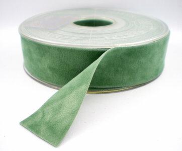 fluweelint dubbelzijdig cobalt green