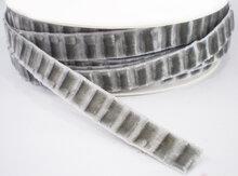 Velvetta fluweel lint grijs