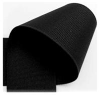Grosgrain lint zwart 10mm