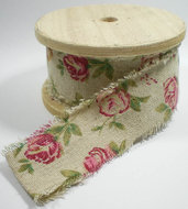 Vintage roses band smal