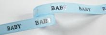 Babylint lichtblauw zilver