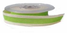 Groen cotton stripe lint