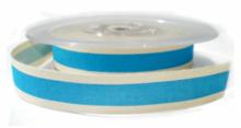 Blauw cotton stripe lint