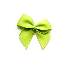 Strikjes helder groen