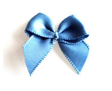 Strikjes antiek blauw