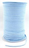 Lichtblauw elastiek