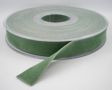 cobalt green fluweel lint