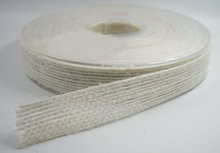 Jute sierband wit 15mm